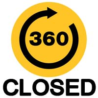 360 Degrees Closed